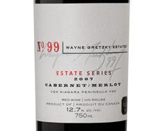 WAYNE GRETZKY NO. 99 ESTATE SERIES CABERNET/MERLOT 2007