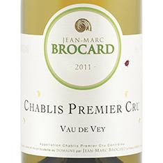 JEAN-MARC BROCARD VAU DE VAY CHABLIS 1ER CRU 2014