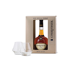 COURVOISIER VS GIFT PACK WITH SNIFTER