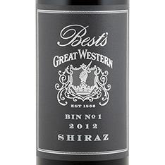 BEST'S GREAT WESTERN BIN NO. 1 SHIRAZ