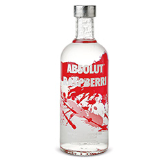 ABSOLUT RASPBERRI VODKA