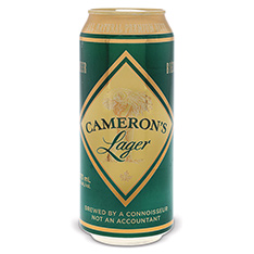 CAMERON'S LAGER