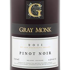 GRAY MONK PINOT NOIR 2014