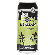 DOUBLE TROUBLE - HOPS AND ROBBERS IPA