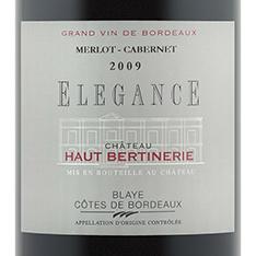 CHÂTEAU HAUT-BERTINERIE ELEGANCE MERLOT/CABERNET 2014