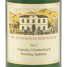 DR. HEIDEMANNS-BERGWEILER GRAACHER HIMMELREICH RIESLING SP�TLESE 2013