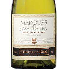 CONCHA Y TORO MARQU�S DE CASA CONCHA CHARDONNAY 2015