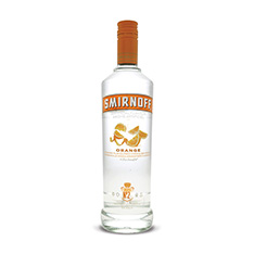 SMIRNOFF ORANGE FLAVOURED VODKA