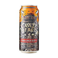 CRAZY BEARD MAD GINGER BEER