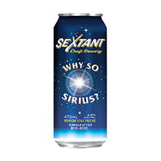 WHY SO SIRIUS AMERICAN STYLE PALE ALE CAN