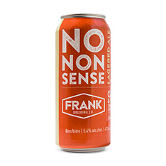 FRANK BREWING NO NONSENSE LAGERED ALE