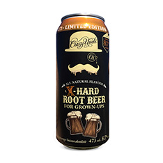 CRAZY UNCLE X-HARD ROOT BEER FOR GROWN UPS