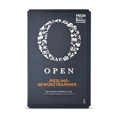OPEN RIESLING GEWÜRZTRAMINER VQA BAG IN BOX