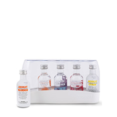 ABSOLUT FIVE FLAVOUR GIFT PACK (5X50ML)