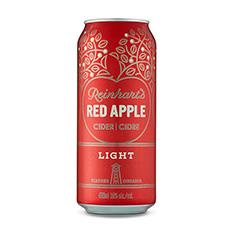 REINHART'S RED APPLE LIGHT CIDER
