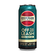 HIGH PARK BREWERY OFF LEASH IPA