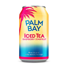 PALM BAY ICED TEA RASPBERRY STARFRUIT