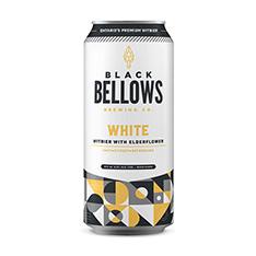 BLACK BELLOWS WHITE