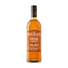 J.P. WISER'S TOFFEE WHISKY