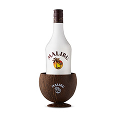 MALIBU WITH REAL COCONUT CUP