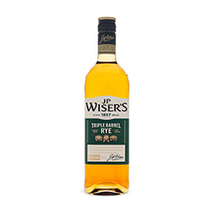 J.P. WISER'S TRIPLE BARREL RYE CANADIAN WHISKY