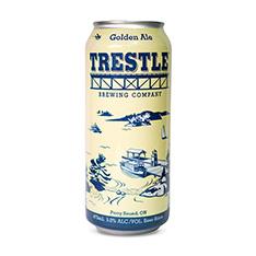 TRESTLE BREWING COMPANY GOLDEN ALE