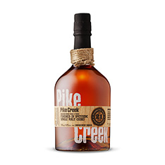 PIKE CREEK 21 YO DOUBLE BARRELED CDN WHISKY