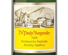 DR. PAULY-BERGWEILER BERNKASTELER BADSTUBE RIESLING SPÄTLESE 2011