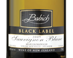 BABICH BLACK LABEL SAUVIGNON BLANC 2015